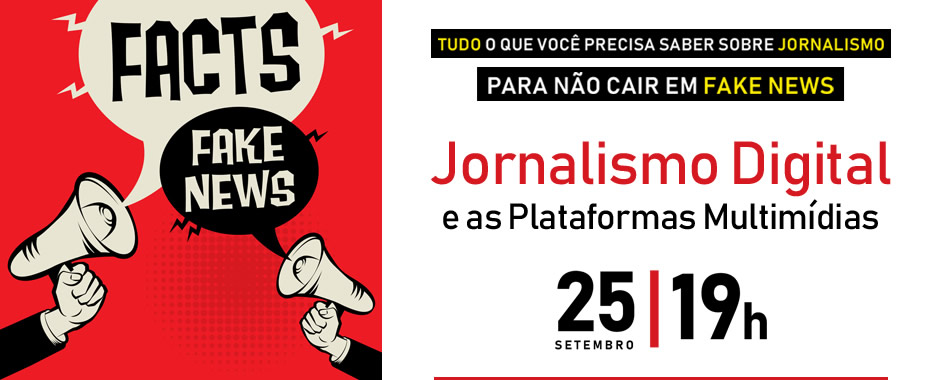 Workshop: Jornalismo Digital e as Plataformas Multimídias