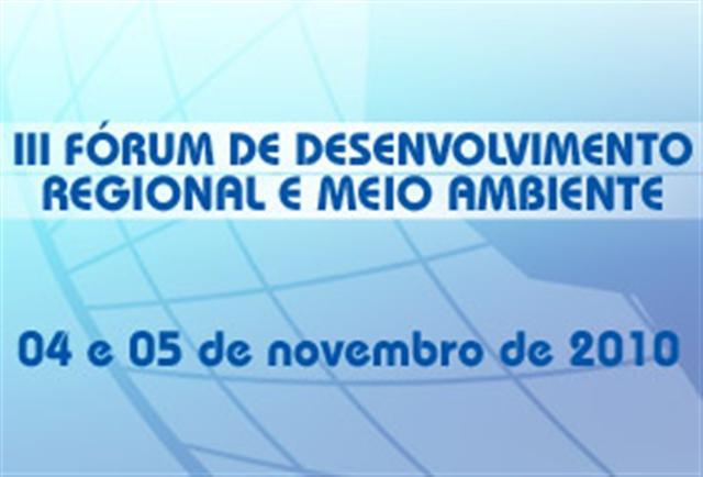Uniara promove o III Fórum de Desenvolvimento Regional e Meio Ambiente em novembro